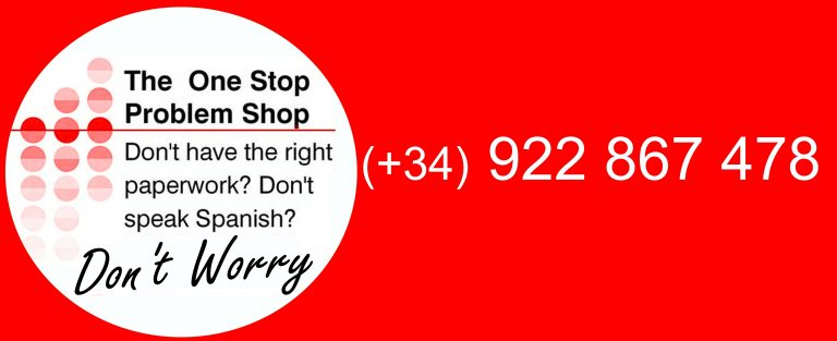 The One Stop Problem Shop - Tenerife Translator - Help with Paperwork